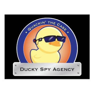 Postales Ducky de la agencia de espías
