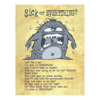 Postales enfermas del monstruo