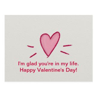 Postales felices del el día de San Valentín