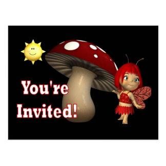 Postales personalizadas de la invitación del cumpl