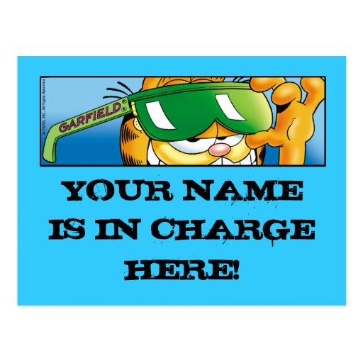 Postales responsables de Garfield Logobox