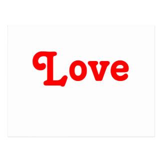 Postales rojas y blancas simplemente del amor