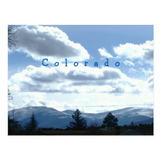 Postales soleadas del Mountain View de Colorado