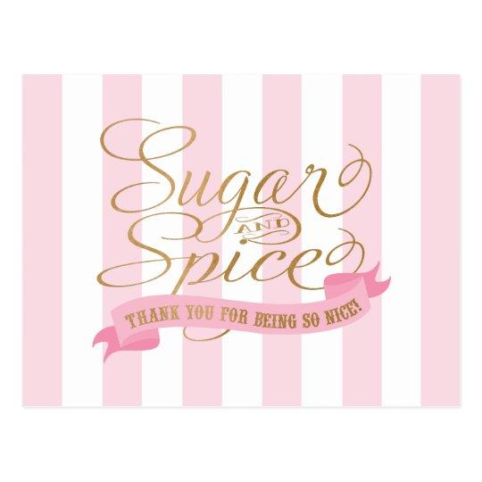 Postales temáticas del azúcar y de la especia