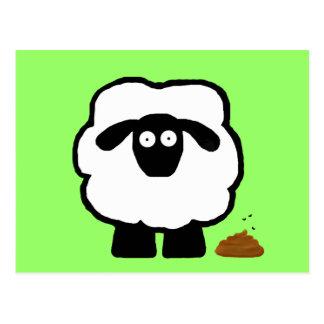 Postales vacías de las ovejas