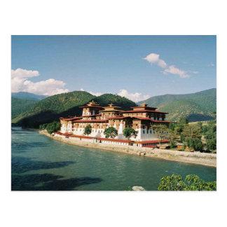 Postcard Bhutan, Punakha Dzong Postal