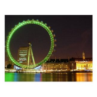 Postcard London Eye (lento velocidad), London UK