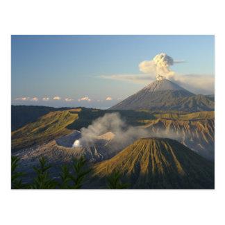 Postcard Mount Bromo, Java, Indonesia Postal