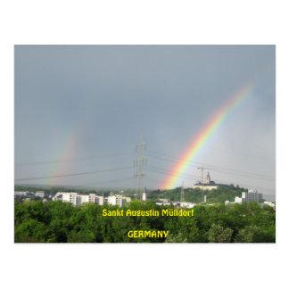 """Postcard """"Nature en Augustin Santa pueblo de Postal"""