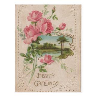 Poste histórico de la tarjeta del día de San