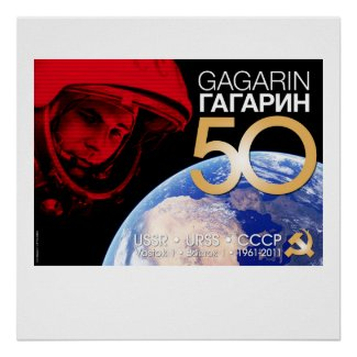 Póster Yuri Gagarin