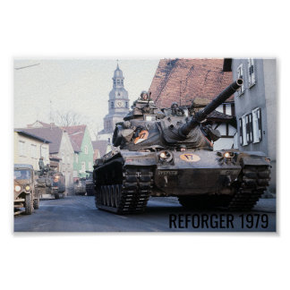 Poster 1979 de Reforger Póster