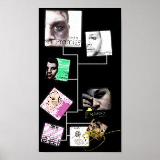 Poster 2013 de la discografía del pecado de la tri