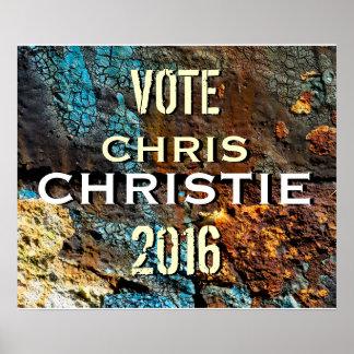 Poster 2016 de la campaña del Grunge de Chris Chri