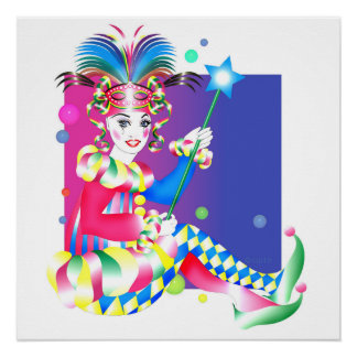 "POSTER 20"" DEL CARNAVAL W X 20"""