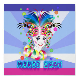 "POSTER 20"" DEL CARNAVAL W X 20"" 2"
