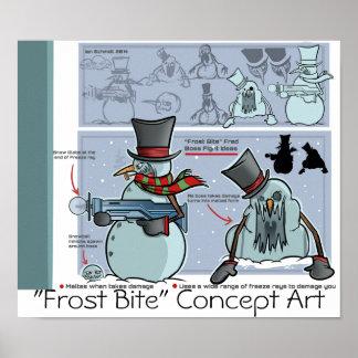"""""""Poster 2 de la mordedura de Frost de los horizont Póster"""