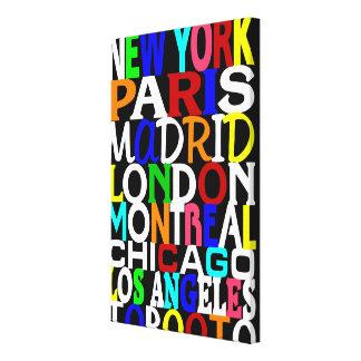 Poster 2 de los puntos calientes de la moda impresión en lona