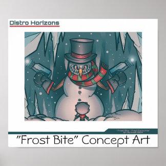 """""""Poster 3 de la mordedura de Frost de los horizont Póster"""