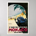 Póster 5to Grand Prix de Mónaco