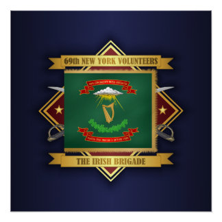 Póster 69.o Infantería voluntaria de Nueva York