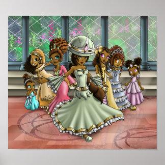 """Póster """"7 princesas """""""