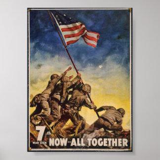 Póster 7mo Préstamo de la guerra, ahora… Todos junto -