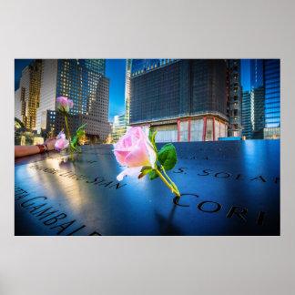 Póster 911 NYC conmemorativos