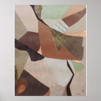 Poster abstracto del coronel 2 pintura