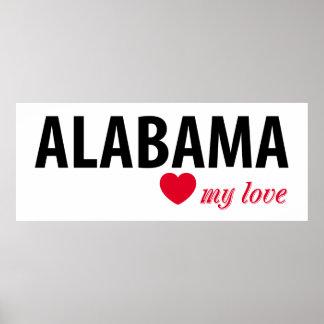 Póster Alabama mi amor