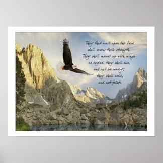 Póster Alas como 40:31 de Eagles Isaías