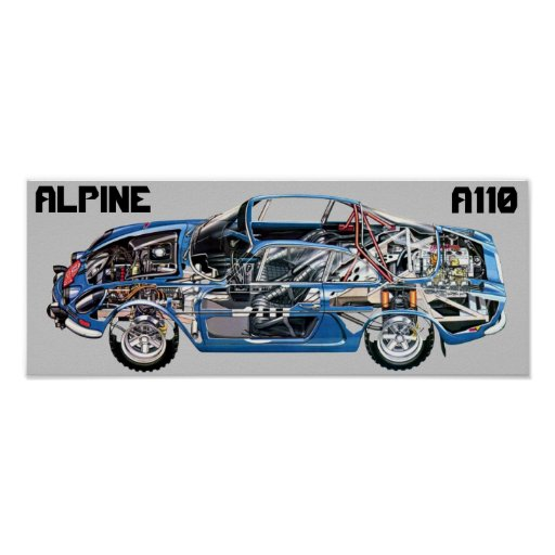 PÓSTER ALPINE A110