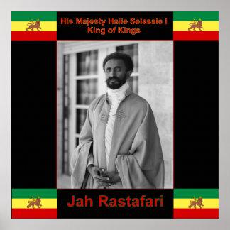 Póster Ampliación de foto de Haile Selassie Jah Rastafari