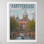 Póster Amsterdam - Sint Nicolaaskerk