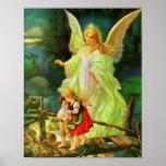 Póster Ángel de guarda - la Guarda del del ángel