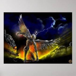 Póster Angel Of Vengeance