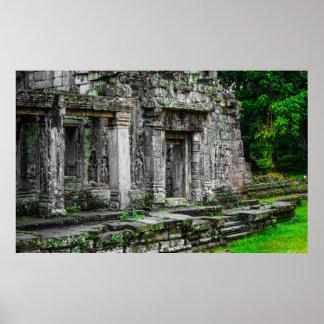 Póster Angkor arruina el poster