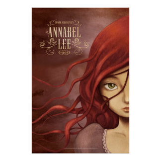 """Poster """"Annabel Lee"""""""