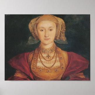 Póster Anne de Cleves - poster