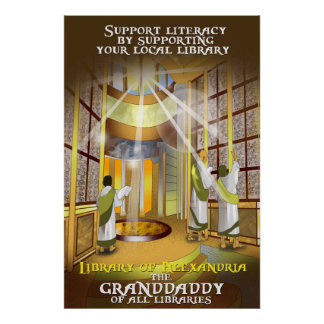 Póster Apoye su poster local de la biblioteca
