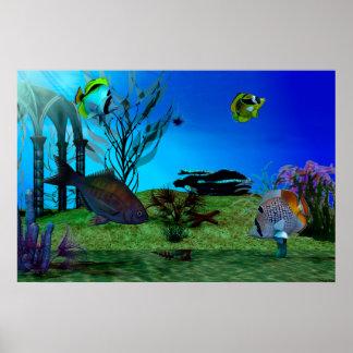 Póster Aquarium3D