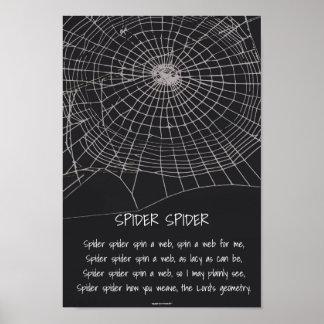 Póster Araña de la araña