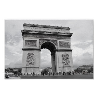 Póster Arco del Triunfo París