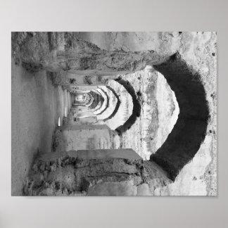 Póster Arcos marroquíes