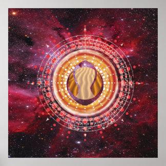 Póster Arenas celestiales: Poster primordial de los