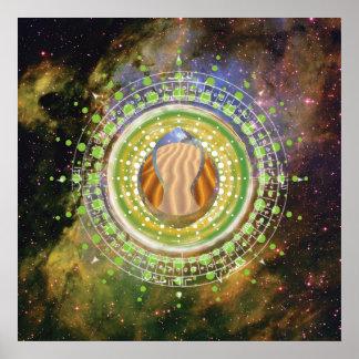 Póster Arenas celestiales: Poster primordial GRN de los