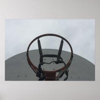 Póster Aro de baloncesto