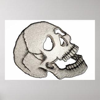 Póster Asuste un cráneo