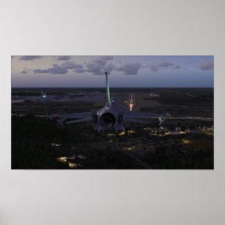Póster Aterrizaje F-16 (FSX)