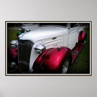 Poster auto clásico